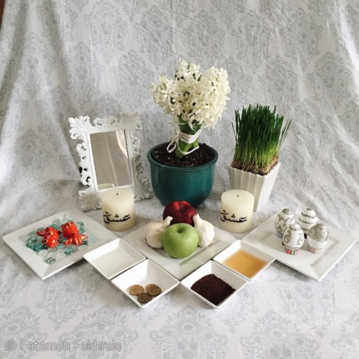Persian new year haft seen